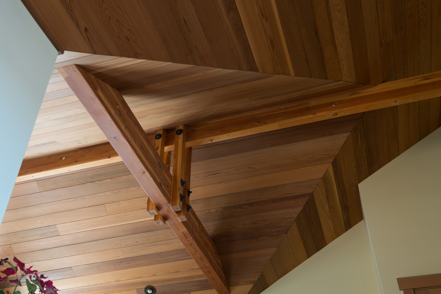 Fauntleroy Cove Fir Ceiling by Vornbrock & Son's Construction